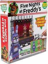 *NEW* McFarlane Five Nights at Freddy's DELUXE CONCERT STAGE FNAF Construction!