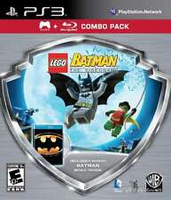 Lego Batman The Videogame with Batman Movie Combo Pack PS3 New PlayStation 3, Pl