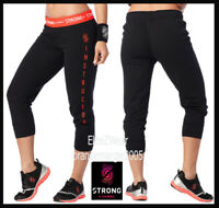 ZUMBA STRONG By Zumba Instructor Cropped Skinny Sweat Pants - Work Out,Dance,Hip