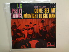 "PRETTY THINGS:Come See Me-Midnight To Six Man+2-France 7""Fontana 465.310 EP PCV"