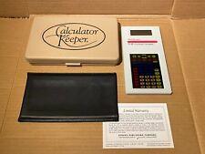 Calculator Keeper TI-15 Educator Overhead Calculator with Case