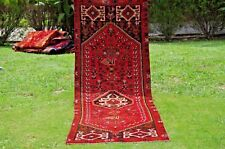 Stunning Antique Oriental Anatolian Runner,Antique Long Hall Way Runner