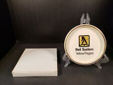 Bell System Yellow Pages Telephone Dish Trinket Let Your Fingers Do the Walking