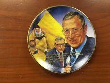 John Wooden Ucla Bruins Gartlan Miniature 3 Inch Collector Plate