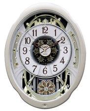 Rhythm Magic Motion musical orologio da parete mobile rotazione pendolo cristallo grande