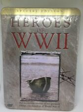 WWII HEROES-3 DVD New Special Edition Tin Case Stories Of Allied Commanders