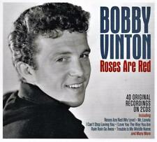 BOBBY VINTON - ROSES ARE RED - 50 ORIGINAL RECORDINGS (NEW SEALED 2CD)