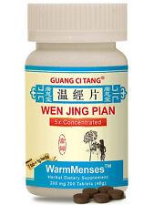 Guang Ci Tang, Wen Jing Pian, WarmMenses, 200 mg, 200 ct