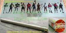 """Factory SEALED Nike BO JACKSON Poster """"Don't I Know You?"""" Never Removed Unrolled"""