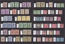 Malta. 1922-1930. Fine mounted mint selection.