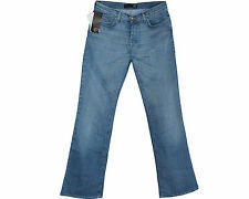GENUINE BRAND NEW JUST CAVALLI BLUE DENIM WIDE LEG MENS JEANS SIZE 34