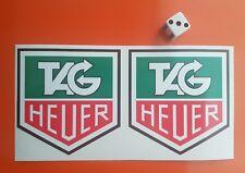 Tag Heuer Stickers Haute Qualité 7-10 an Vinly F1 classique