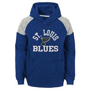 Outerstuff NHL Youth Boys (8-20) St. Louis Blues Linebacker Fleece Hoodie