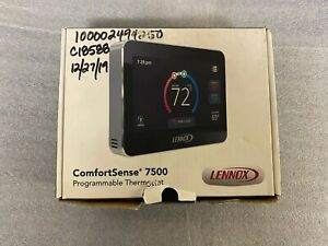 Lennox 13H14 Comfort Sense 7500 Touchscreen Multi Stage Thermostat