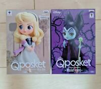 Q posket Disney Sleeping Beauty & Maleficent Set of 2 Figure Banpresto Japan