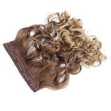 """22"""" One Piece Clip In Hair Extension Wavy Ash Brown/Sandy Blonde Ombre 10/24"""