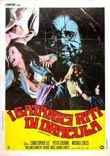 Satanic Rites Of Dracula Poster 04 Metal Sign A4 12x8 Aluminium