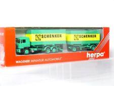 Herpa 859179 Schenker Man F90 Swap Body Roadtrain Truck 1:87 / H0 Ovp
