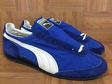 b3121931ec6c0b Vintage🔥 Puma Cat EYE Made In West Germany Leather Racer Blue Sz 14  Yugoslavia