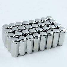 "32 Acorn Lug Nuts 9/16 Thread 7/8 HEX 2.38"" Tall For Dodge Ram 2500 3500"