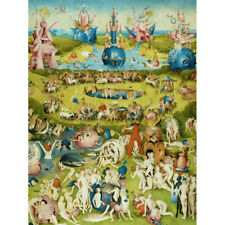 Hieronymus Bosch Garden Earthly Delights Painting Canvas Wall Art Print Poster