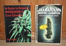2 Books GUIDE TO GROWING MARIJUANA by Ed Rosenthal & Don Irving
