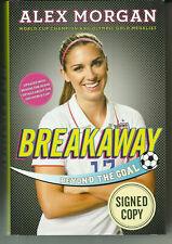 "ALEX MORGAN (Soccer) signed / autographed hardback book ~ ""Breakaway"" ~ JSA/COA"