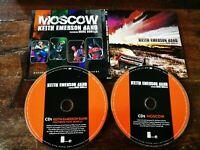 Keith Emerson Band feat Marco Bonilla - Same / Moscow Gatefold 2X Cd Perfetto