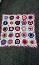Crochet squares blanket .new
