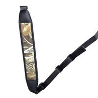 Tactical Gun Rifle Sling Strap Neoprene Waterproof Camo Shotgun Belt Hunting
