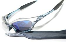 Oakley Splice FMJ+ Ice Blue Sonnenbrille Juliet Pit Plate Monster Valve 03-723