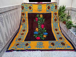 Moroccan Handmade Vintage Berber Rug Azilal Tribal Rug Bohemian Wool Carpet