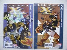 ULTIMATE FANTASTIC FOUR / X-MEN N°1 ET 2  RUN COMPLET VO NEUF / NEAR MINT / MINT