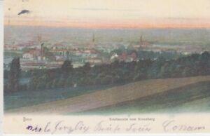 Ansichtskarte Nordrhein - Westfalen Bonn Totalansicht vom Kreuzberg 1905