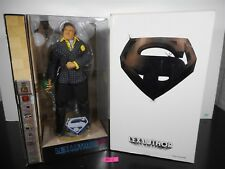 "NEW MATTEL MOVIE MASTERS LEX LUTHOR ADULT COLLECTOR 12"" FIGURE WHITE CARTON 35-1"