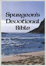 Spurgeon's Devotional Bible by Charles Spurgeon (1987, Hardcover, Reprint)