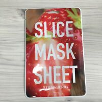 1SHEET KOCOSTAR SLICE MASK SHEET STRAWBERRY VIBRANT & GLOWING