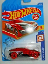 2020 Hot Wheels ~ Forward Force Red ~ Track Stars 2/5 ~ Best for Track ~ 99/250