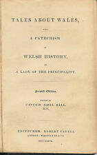 """""""TALES ABOUT WALES WITH A CATECHISM OF WELSH HISTORY"""" 1837 WALES BOOK"""