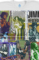 JIMI HENDRIX-COLLAGE-BOLD AXIS-FREEDOM-T-SHIRT L-XL-XXL Stratocaster, EXPERIENCE