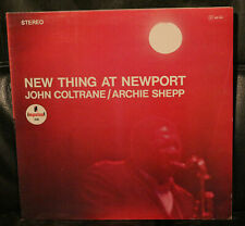 LP JOHN COLTRANE / ARCHIE SHEPP - New Thing At Newport  1966/?