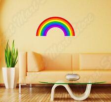 "Rainbow Lesbian Gay Pride LGBT Wall Sticker Room Interior Decor 25""X16"""