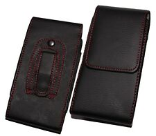 PU Leather Belt Pouch Holster Holder Clip Case Cover for iPhone & Galaxy Mobiles Galaxy S5 I9600