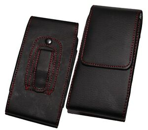 PU Leather Belt Pouch Holster Holder Clip Case Cover for iPhone & Galaxy Mobiles