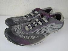 Merrell Pace Glove Dark Shadow Women's Running Shoes Gray/Purple Size 8.5 / 39