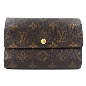 LOUIS VUITTON Porte Tresor / Etui Shekie Tri-Fold Wallet M60202 Wallet Monog...