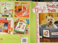 So Girly Posh Pets Cross Stitch Book-Leisure Arts