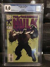 Incredible Hulk 377 3rd Print CGC 8.0 1st Appearance PROFESSOR HULK 1991 Blu Ray