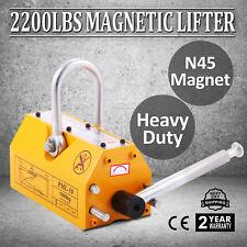Acier 1000KG/2200Lbs magnétique de Aimant de levage treuil Permanent palan grue
