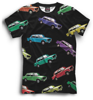 LADA New T-shirt Retro car auto Lada Russia 800006